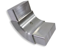 Aluminium components for the furniture industry